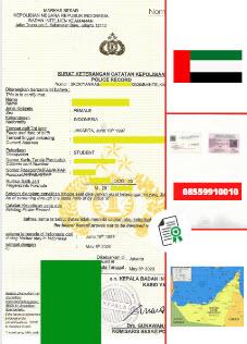 Jasa Legalisir SKCK Di Kedutaan Uni Emirat Arab || 08559910010
