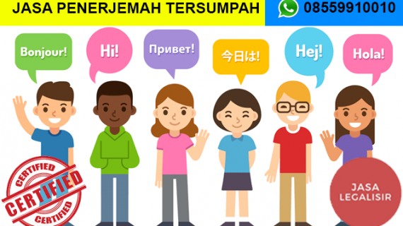 Jasa Penerjemah Tersumpah di Kabupaten Sorong Selatan || 08559910010