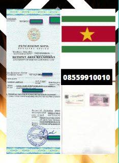 Jasa Legalisir Akta Lahir Di Kedutaan Suriname || 08559910010