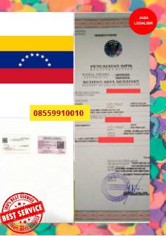 Jasa Legalisir Akta Kematian Di Kedutaan Venezuela || 08559910010