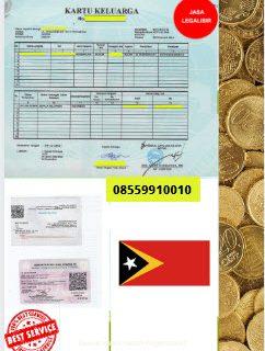 Jasa Legalisir Kartu Keluarga Di Kedutaan Timor Leste || 08559910010