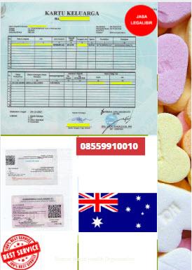 Jasa Legalisir Kartu Keluarga Di Kedutaan Australia || 08559910010