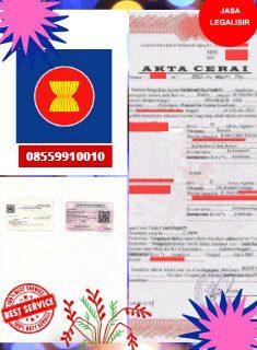 Jasa Legalisir Akta Cerai Di Kedutaan Perbara || 08559910010