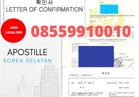 Jasa Apostille Kedutaan Korea Selatan || 08559910010