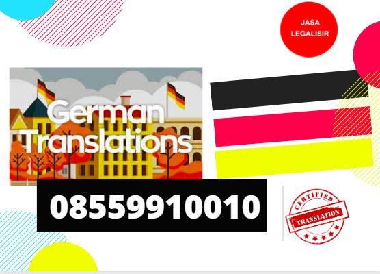 Penerjemah Tersumpah Bahasa Jerman || 08559910010 || German Language