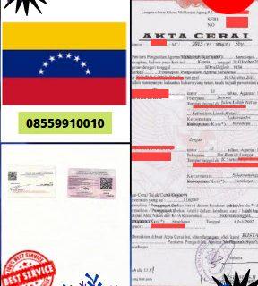 Jasa Legalisir Akta Cerai Di Kedutaan Venezuela || 08559910010