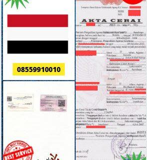 Jasa Legalisir Akta Cerai Di Kedutaan Yaman || 08559910010