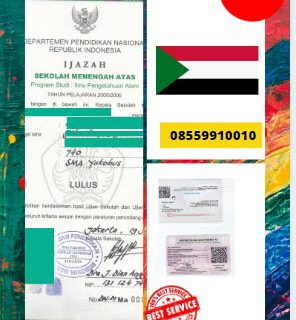 Jasa Legalisir Ijazah SMA Di Kedutaan Sudan    08559910010