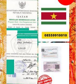 Jasa Legalisir Ijazah SMA Di Kedutaan Suriname    08559910010