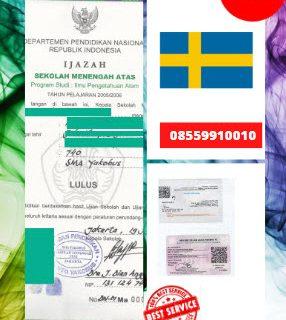 Jasa Legalisir Ijazah SMA Di Kedutaan Swedia    08559910010