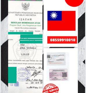 Jasa Legalisir Ijazah SMA Di Kedutaan Taiwan    08559910010