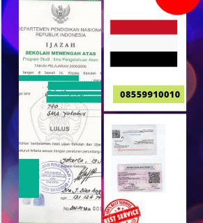Jasa Legalisir Ijazah SMA Di Kedutaan Yaman || 08559910010