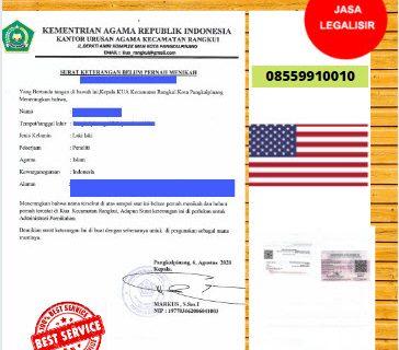 Jasa Legalisir SKBM Di Kedutaan Amerika Serikat || 08559910010