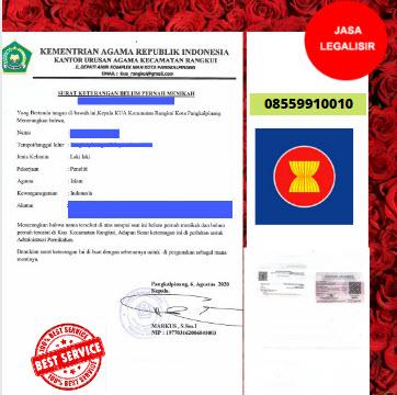 Jasa Legalisir SKBM Di Kedutaan Perbara    08559910010