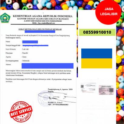 Jasa Legalisir SKBM Di Kedutaan Ukraina    08559910010