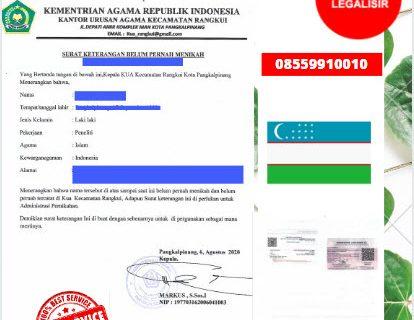Jasa Legalisir SKBM Di Kedutaan Uzbekistan    08559910010