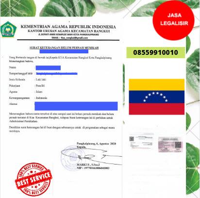 Jasa Legalisir SKBM Di Kedutaan Venezuela    08559910010