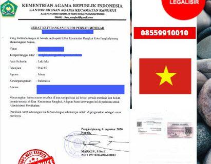 Jasa Legalisir SKBM Di Kedutaan Vietnam    08559910010