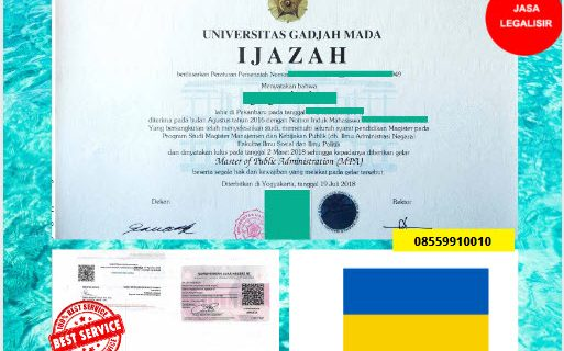 Jasa Legalisir Ijazah Universitas Di Kedutaan Ukraina || 08559910010