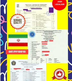 Jasa Legalisir Transkrip Universitas Di Kedutaan Iran || 08559910010