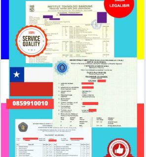 Jasa Legalisir Transkrip Universitas Di Kedutaan Chili    08559910010