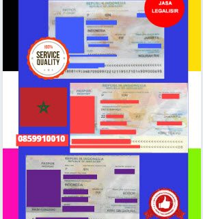 Jasa Legalisir Paspor Di Kedutaan Moroko || 08559910010