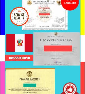 Jasa Legalisir Piagam Di Kedutaan Peru || 08559910010