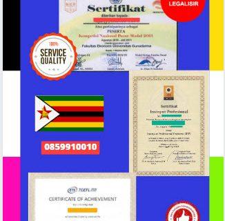 Jasa Legalisir Sertifikat Di Kedutaan Zimbabwe || 08559910010
