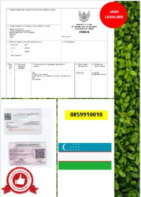 Jasa Legalisir Dokumen Invoice Perdagangan Di Kedutaan Uzbekistan || 08559910010