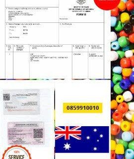 Jasa Legalisir Dokumen Invoice Perdagangan Di Kedutaan Australia || 08559910010