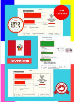 Jasa Legalisir Dokumen Perdagangan Certificate Of Origin (COO) Di Kedutaan Peru    08559910010