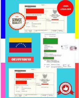 Jasa Legalisir Dokumen Perdagangan Certificate Of Origin (COO) Di Kedutaan Venezuela    08559910010