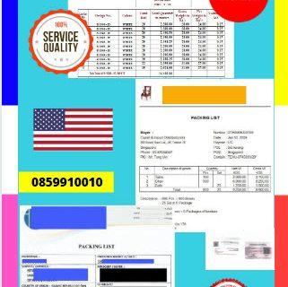 Jasa Legalisir Dokumen Perusahaan Packing List Di Kedutaan Amerika Serikat    08559910010