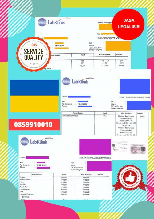 Jasa Legalisir Dokumen Medical Test Record Di Kedutaan Ukraina    08559910010