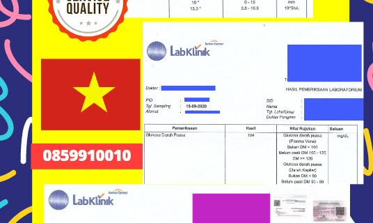 Jasa Legalisir Dokumen Medical Test Record Di Kedutaan Vietnam || 08559910010