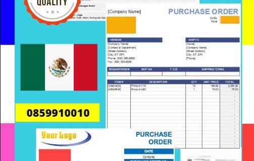 Jasa Legalisir Dokumen Perusahaan – Purchase Order (PO) Di Kedutaan Meksiko || 08559910010