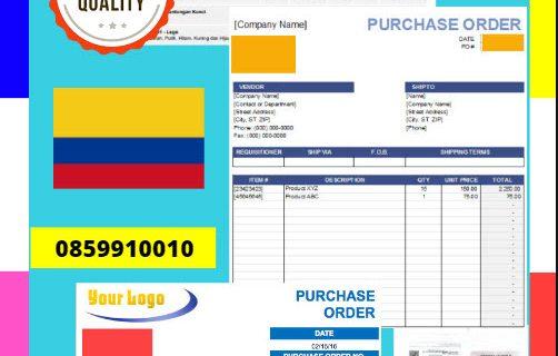Jasa Legalisir Dokumen Perusahaan – Purchase Order (PO) Di Kedutaan Kolombia || 08559910010