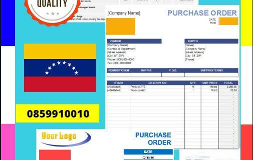 Jasa Legalisir Dokumen Perusahaan – Purchase Order (PO) Di Kedutaan Venezuela || 08559910010