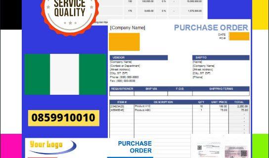 Jasa Legalisir Dokumen Perusahaan – Purchase Order (PO) Di Kedutaan Nigeria    08559910010