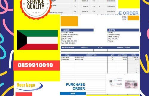 Jasa Legalisir Dokumen Perusahaan – Purchase Order (PO) Di Kedutaan Kuwait || 08559910010