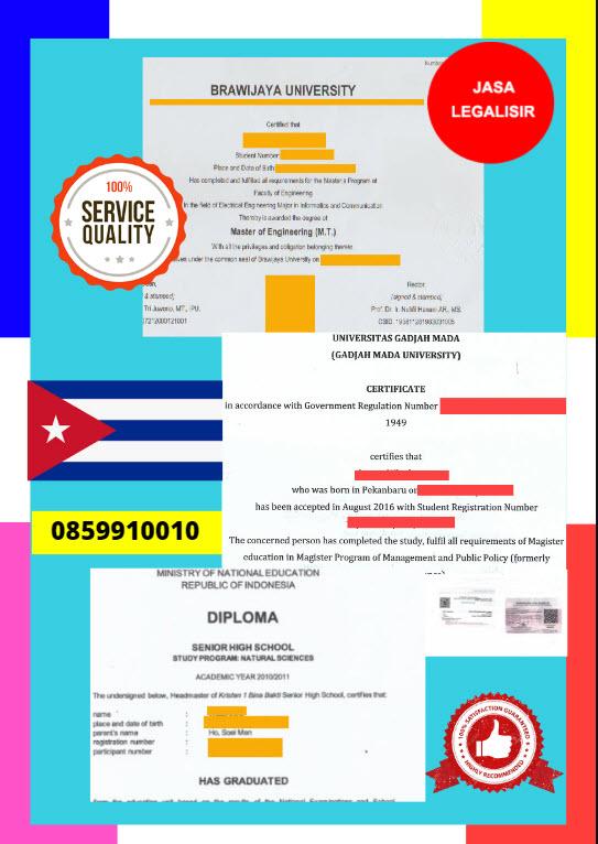 Jasa Legalisir Dokumen Terjemahan Berbahasa Inggris Di Kedutaan Amerika Serikat || 08559910010