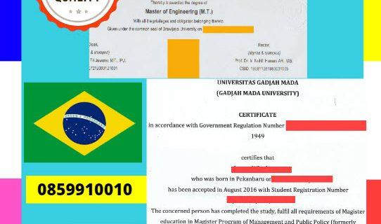 Jasa Legalisir Dokumen Terjemahan Berbahasa Inggris Di Kedutaan Brasil    08559910010