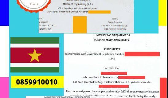 Jasa Legalisir Dokumen Terjemahan Berbahasa Inggris Di Kedutaan Suriname || 08559910010