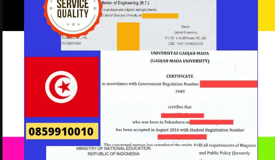 Jasa Legalisir Dokumen Terjemahan Berbahasa Inggris Di Kedutaan Tunisia || 08559910010