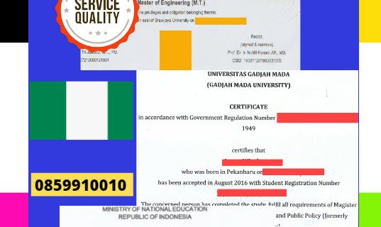 Jasa Legalisir Dokumen Terjemahan Berbahasa Inggris Di Kedutaan Nigeria || 08559910010