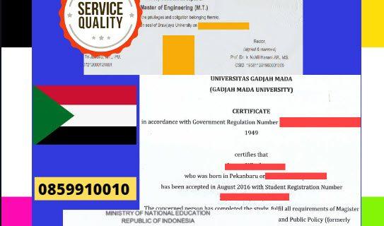 Jasa Legalisir Dokumen Terjemahan Berbahasa Inggris Di Kedutaan Sudan || 08559910010