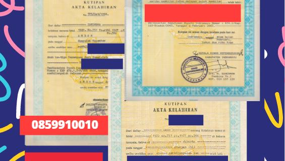 Jasa Legalisir Akta Lahir Indonesia di Austria Hulu – Austria    08559910010