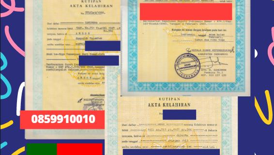 Jasa Legalisir Akta Lahir Indonesia di Faro – Portugal    08559910010
