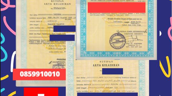 Jasa Legalisir Akta Lahir Indonesia di Frauenfeld – Swiss    08559910010