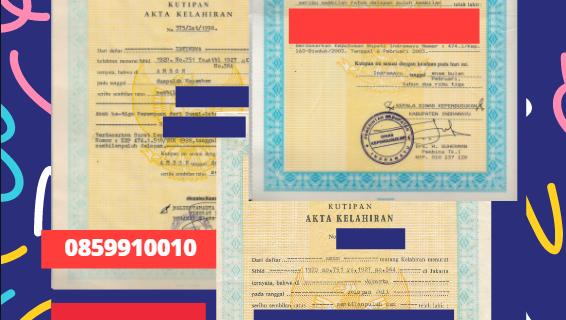 Jasa Legalisir Akta Lahir Indonesia di Bregenz – Austria    08559910010
